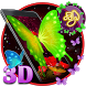 3d neon butterfly theme by Elegant Theme