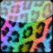 Go Locker Rainbow Cheetah by Stealthychief GO Themes