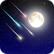 Meteor shower Live Wallpaer by orchid