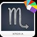 Scorpio Zodiac Xperia Theme by Toshx