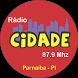 Rádio Cidade by AACHost - Aplicaitivos
