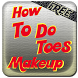 How To Do Toes Makeup by elizapps
