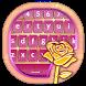 Rose Gold Keyboard Wallpaper