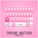 GO Keyboard Theme Pro Pink by Theme Nation