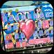 Love Kiss Graffiti Keyboard theme by NeoStorm We Heart it Studio