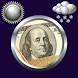 Money Clock & Weather Widget by Compass Clock and Weather