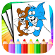 Tom Coloring pages for jerry by GeekLab.inc