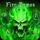 Demon Keyboard Theme by Keyboard Arts Themes