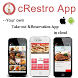 Take-out Restaurant Menu by Sazu Technologies