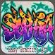 Easy Graffiti Art by muzaffar nahdan