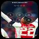 Keypad Lock Screen For Hakim Ziyech by application sport