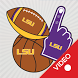 LSU Tigers Animated Selfie Stickers by 2Thumbz, Inc
