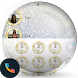Glitter Gold Silver PhoneTheme by Themes Messages Contacts Dialer by Double L