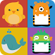 Memory matching game for kids by HexagonSoft