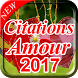 Citations Amour 2017 by AKA DEVELOPER