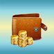 Gold Wallet by Kevin Huy