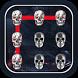 Skull Pattern Lock Screen by Mobile Locks