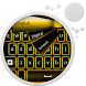 GO Keyboard Gold Neon by Keyboard Themes HD