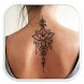 Girl Back Tattoo Designs by LynxApp