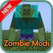 Zombie MODS For MCPE by Pngsoftware