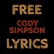 Free Lyrics for Cody Simpson by Saree Dev