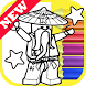 How Draw Coloring for NinjaGo by Fans by Draw Coloring Studio Dev