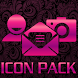 ICON PACK PINK METAL THEME by Tak Team Studio