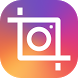 Insta square snap pic collage by Photo Editor Perfect Corp.