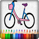 Coloring Bike For Kids by DAGAME