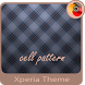cell pattern | Xperia™ Theme by GOSA Inc