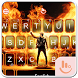 Live 3D Fire Flame Keyboard Theme by Fashion Cute Emoji