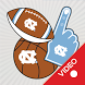 UNC-Chapel Hill Tarheels Animated Selfie Stickers by 2Thumbz, Inc