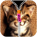 Cute Pet Zipper Screen Lock by Flag Wallpaper HD HQ Free for mobile