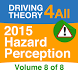 DT4A Hazard Perception Vol 8 by Theory Training Solutions Ltd