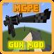 Guns Mod for Minecraft PE by Rapidahre