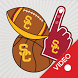 USC Trojans Animated Selfie Stickers by 2Thumbz, Inc