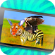 Animal Morphing: Zebra Hybrid by VizyyGames