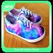 Easy DIY Galaxy Shoes