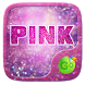 Pink Glitter GO Keyboard Theme by GO Keyboard Dev Team