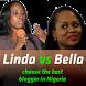 Linda vs. Bella by OpenTagTeam co.
