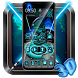 Neon Galaxy war 3D Launcher Theme by 3D Themes World