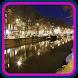 Amsterdam Night HD Wallpaper by Haidi Wallpaper Inc