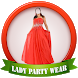 Lady Party Wear Photo Suit by Spentica Mobisoft