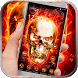 Fury evil fire skull by HD wallpaper and theme
