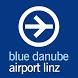 blue danube airport Linz by Maniglgut e.U.