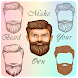 Man Face Editor Mustache & Beard