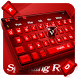 Red Keyboard Theme