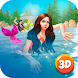 Diving Mermaid Swimming Race by Cartoon World Games