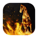 Horse on fire live wallpaper by Fairyfire