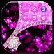 Pink Zipper Lock Screen Wallpaper by Borkos Apps
